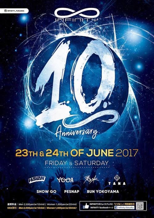JUNE 23 & 24   10. Anniversary