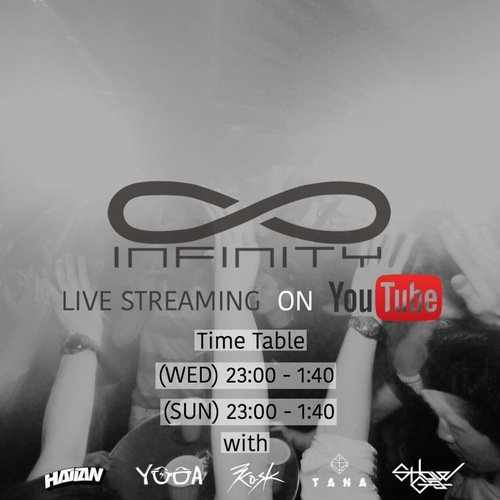 INFINITY LIVE STREAM on YOUTUBE