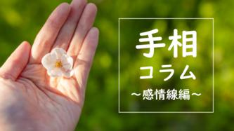 手相コラム_感情線編|Go!Go!ワンク(ゴーゴーワンク)