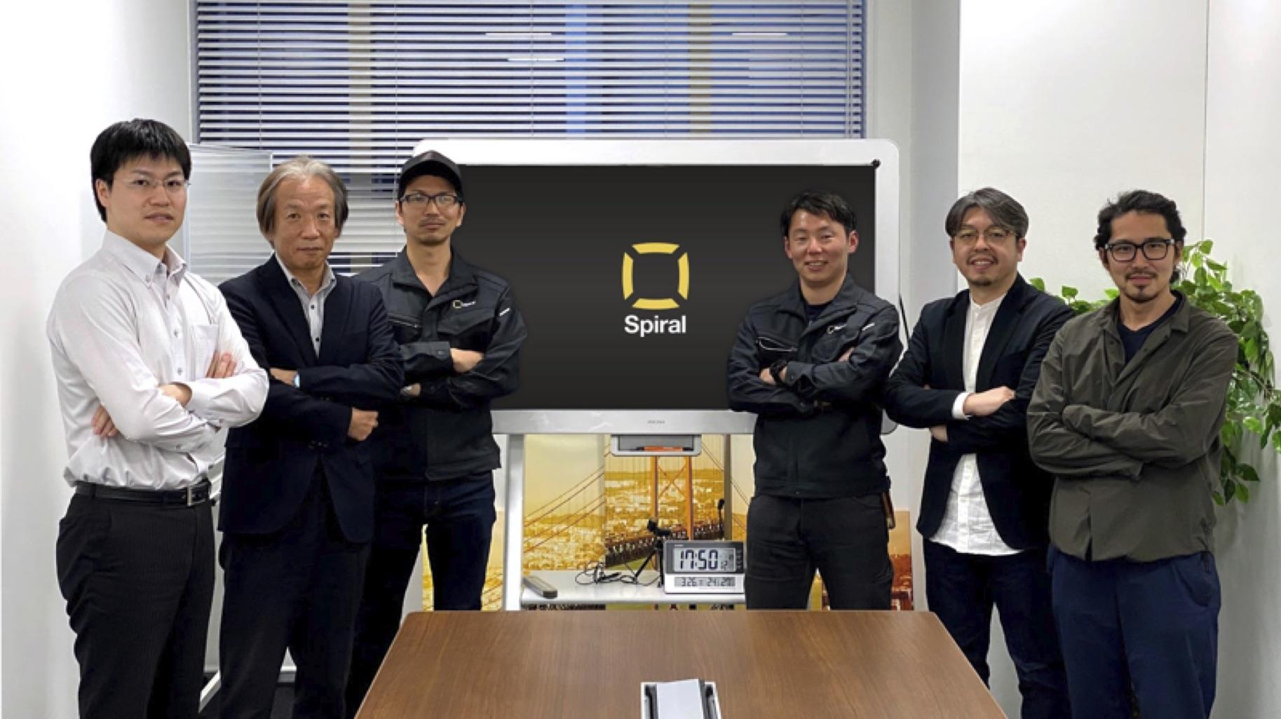 左から3人目が石川さん。右端はMIRAISE CTO布田、その隣がPartner 岩田。